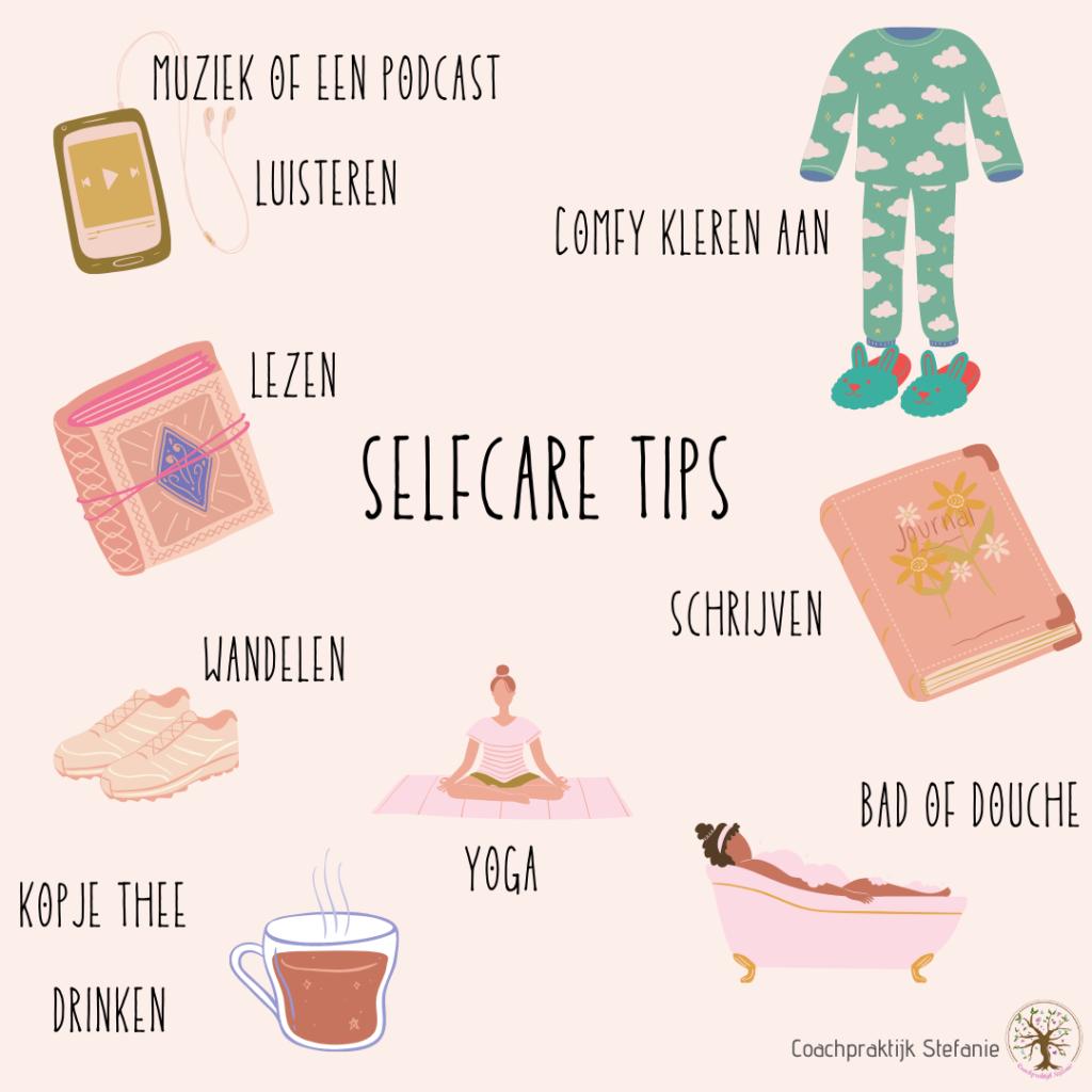 selfcare tips hooggevoelige moeder coachpraktijk stefanie